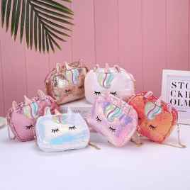 Cute Unicorn Pouch Sling Bag For Girls