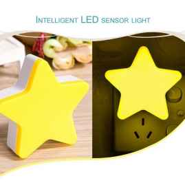Star Light Sensor Lamp