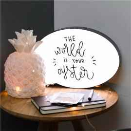 LED Night Lamp Message Handwriting Letter Light Box