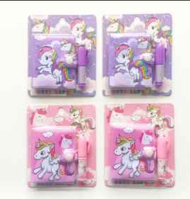 Unicorn Diary with pen for kids