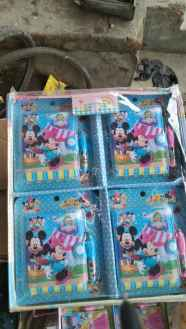 Mickey Mouse Diary with pen for kids