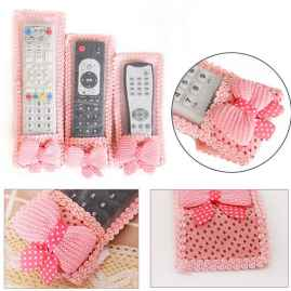 Remote Cover 3 Pcs Set Random Color