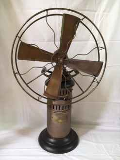 East India Company Antique Vintage Brass Fan