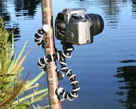 13 inch Flexible Gorillapod Tripod with Mobile Attachment for DSLR, Action Cameras & Smartphones