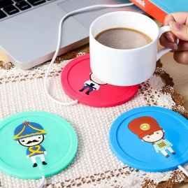 1 Pc USB Cup Warmer - Random Colour