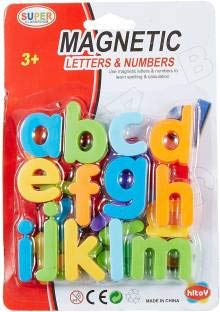 Magnetic Letters for Educating Kids in Fun - SMALL LETTERS