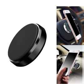 2 Pcs Set Aluminium Alloy Metal Body Mini Mount Magnetic Phone Holder For All Phones