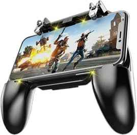 W10 Game Controller for PUBG Mobile Controller L1R1 Mobile Game Trigger Joystick Gamepad