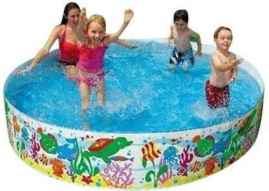 Bestway Non Inflatable Permanent Wall Swimming Pool - 6 FEET