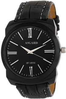 ASGARD Black Dial Watch For Men and Boys 99