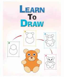 LEARN TO DRAW COLOURING BOOK