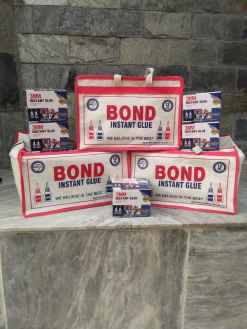 Transparent Instant Bond Glue 12gm pack of 5 bottles