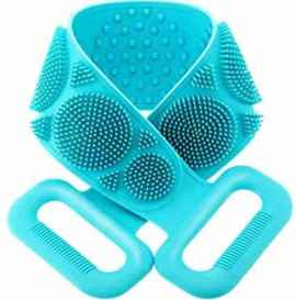 Double Sided Silicone Back Scrubber