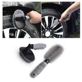 Combo set of Tyre & Rim Cleaning Brush