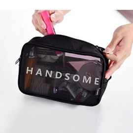 2 Pcs Travel Handsome Etc Vanity Toiletry Travel Pouch for Men