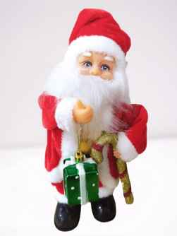 Christmas Special Electric Santa Claus With Candy Cane & Gift Box