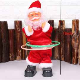 Christmas Special Electric Ring Dancing Santa Claus Christmas Toy for Kids