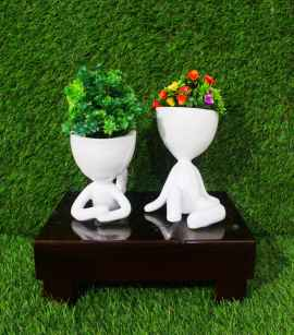 Yoga Planters 10 inches - 1 pc