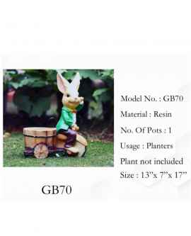 Mr. Rabbit pot planter