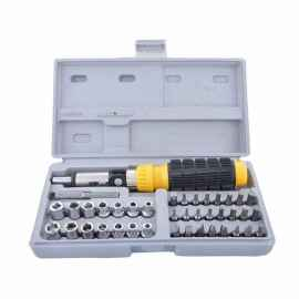 Portable 41 Pcs Combination Socket Tool Kit
