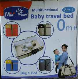 Multi Functional 2 In 1 Baby Travel Bed (Random Color)