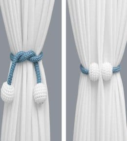 1 Pair Magnetic Curtain Buckle