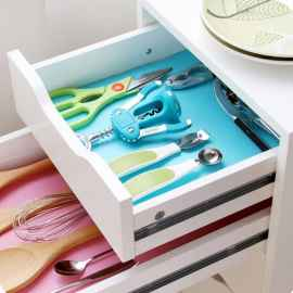 4 PIECES FRIDGE TABLE DRAWER MAT