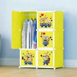 6 CUBES DIY CABINET FOR KIDS