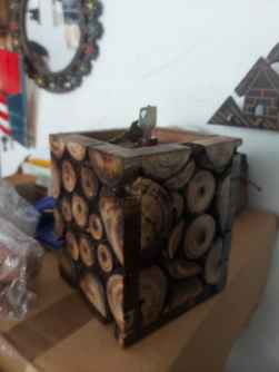 Money box best quality wooden made