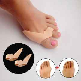 1 Pair Silicone Toe Shaper, Corrector
