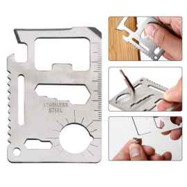 11 in 1 Multipurpose Tool Credit Card Size