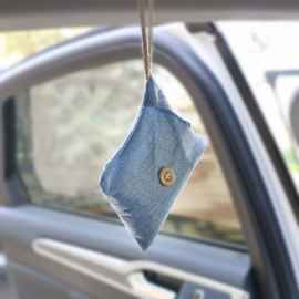 Bamboo Charcoal Car Air Freshener Bag
