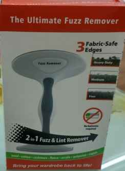 2 in 1 Fuzz and lint remover