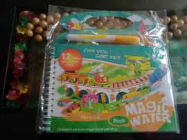 Kids Magic Water Reusable Drawing Pad Doodle Book with Pen - VEHICLE