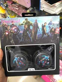 Wired Headphone with Microphone Headset - BOYS