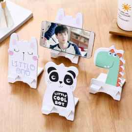 1 Pc MDF Mobile Cartoon Character Mobile Holder (Random)