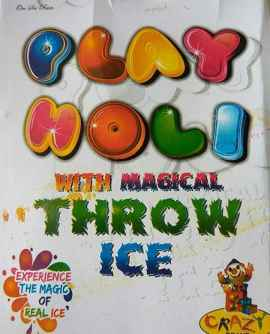 Play Holi With Magical Throw Ice - PACK OF 10