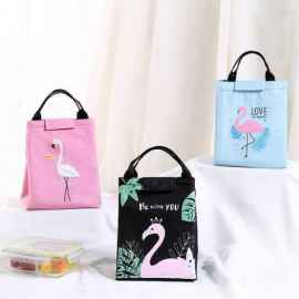 Flamingo Lunch Bag - RANDOM COLOR