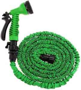 Magic Hose 15 m Plastic Expandable Pipe for car wash Garden house Water Spray Gun