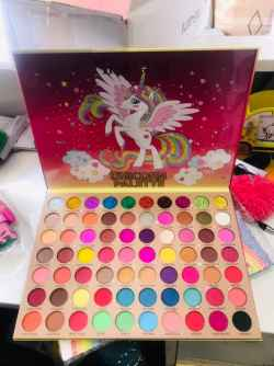 Bright Eyeshadow Palette 70 Colors Pigmented Matte and Shimmer