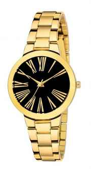 ASGARD Black Dial Watch for Girl and Women 200