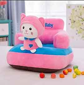 BABY SOFA SEAT KITTY DESIGN PINK