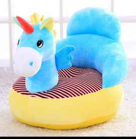 BABY SOFA SEAT UNICORN SKY BLUE