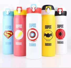 FASHION 500ML INSULATED WATER BOTTLE STAINLESS STEEL VACUUM FLASK TRAVEL MUG