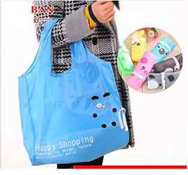 HAPPY SHOPPING BAG RANDOM PRINT SET OF 2