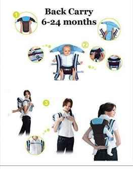 HIGH QUALITY MOTHERS FRONT AND BACK BABY CARRIER