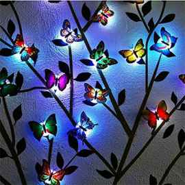 LED COLOR CHANGING BEAUTIFUL BUTTERFLY SET OF 10
