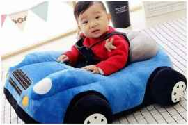 NEW ITEM ARRIVE KIDS SOFA CAR COMFORTABLE TEDDY SEAT BLUE COLOUR