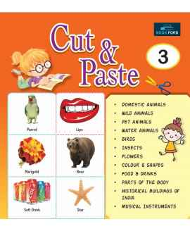PICTURE BOOK CUT AND PASTE 3 ENGLISH