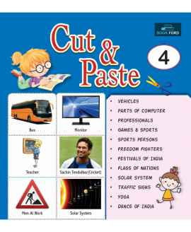 PICTURE BOOK CUT AND PASTE 4 ENGLISH